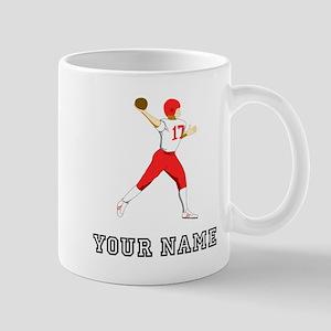 Quarterback (Custom) Mugs