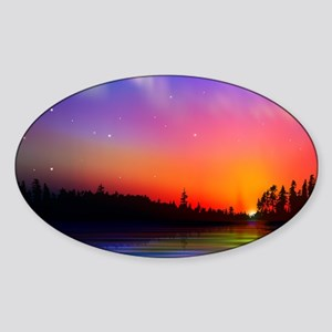 Sunrise Over The Water Sticker