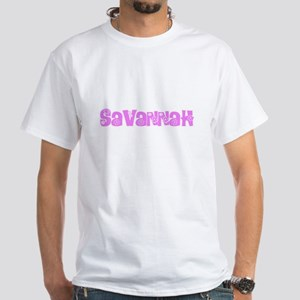 Savannah Flower Design T-Shirt