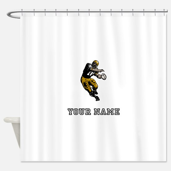 Quarterback (Custom) Shower Curtain