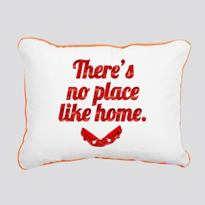 Theres No Place Like Hom Rectangular Canvas Pillow