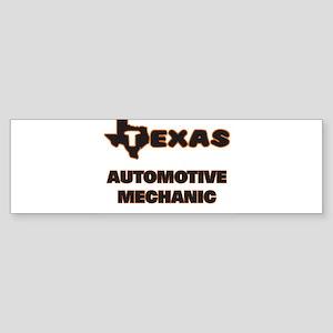 Texas Automotive Mechanic Bumper Sticker