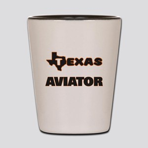 Texas Aviator Shot Glass