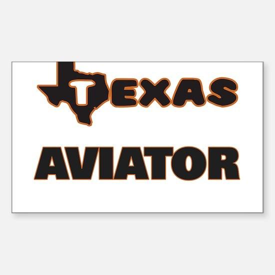 Texas Aviator Decal