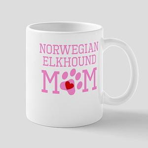 Norwegian Elkhound Mom Mugs