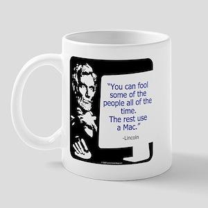 Lincoln Mac Mug