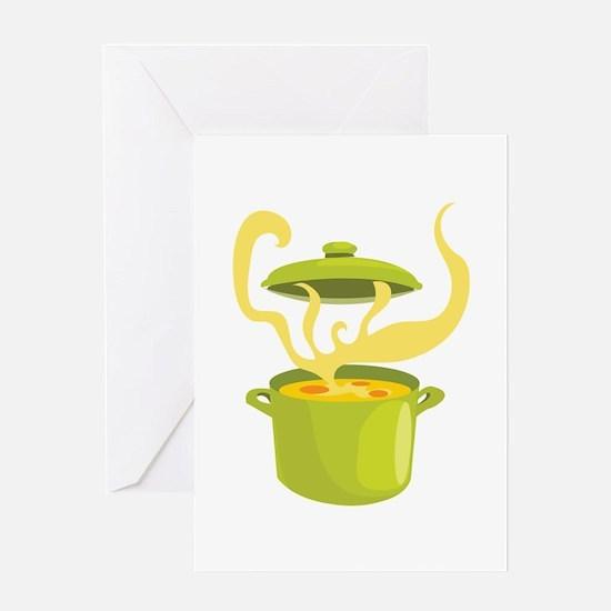 Cook Pot Greeting Cards