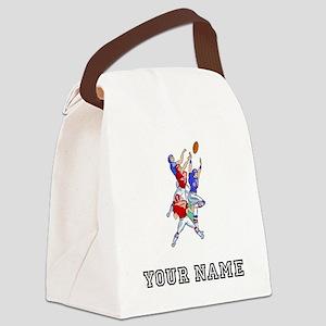 Football Hail Mary (Custom) Canvas Lunch Bag