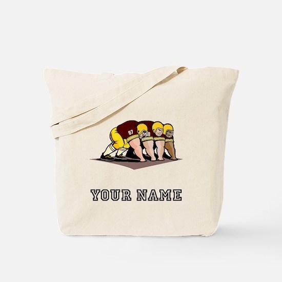 Football Linemen (Custom) Tote Bag