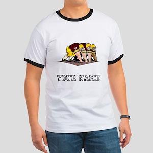 Football Linemen (Custom) T-Shirt