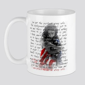 ARMY WIFE POEM Mug