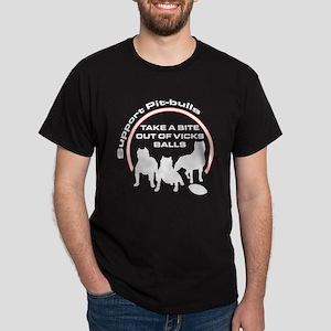 Dog fights Vick Dark T-Shirt