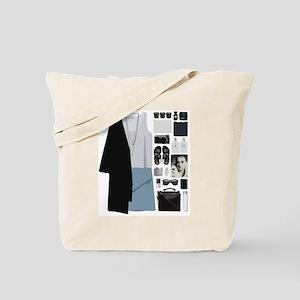 Fashion Collage Tote Bag