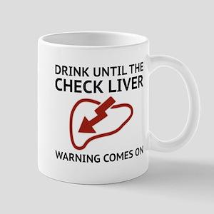Check Liver Warning Mug
