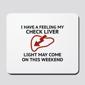 Check Liver Light Mousepad