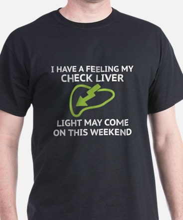 Check Liver Light T-Shirt