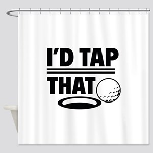 I'd Tap That Shower Curtain