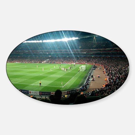 Arsenal Emirates Stadium Sticker (Oval)