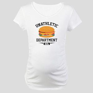 Unathletic Department Maternity T-Shirt