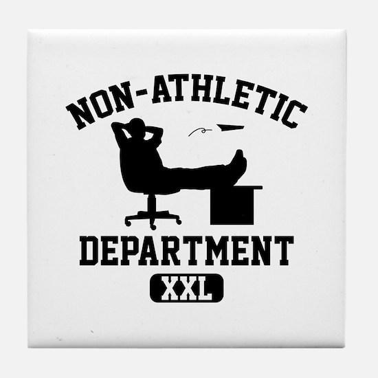 Non-Athletic Department Tile Coaster