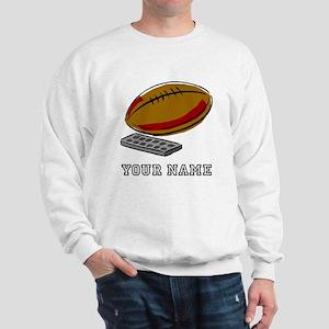 Football And Remote Control (Custom) Sweatshirt