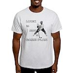 LUCK IS NOT A GAME PLAN-HOCKEY T-Shirt