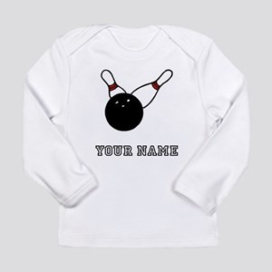 Bowling Ball And Pins Long Sleeve T-Shirt