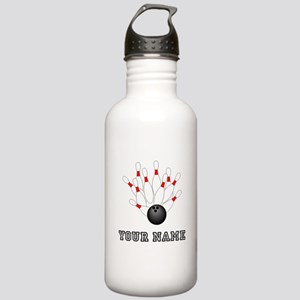 Bowling Strike Water Bottle