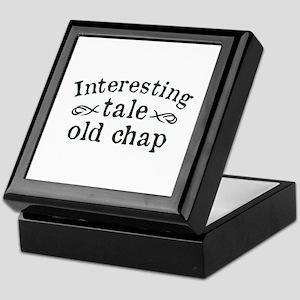 Interesting Tale Old Chap Keepsake Box