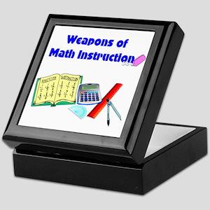 Scott's Weapons of Math Destruction Keepsake Box
