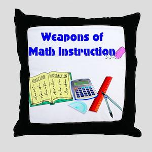 Scott's Weapons of Math Destruction Throw Pillow