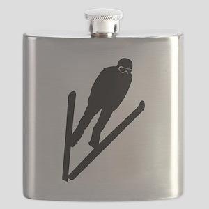 Ski Jumper Flask