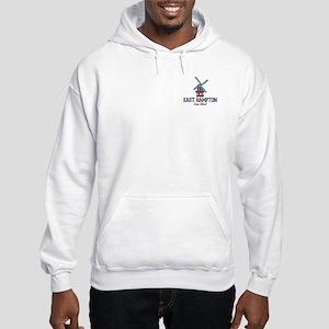 East Hampton - New York. Hooded Sweatshirt