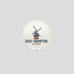 East Hampton - New York. Mini Button