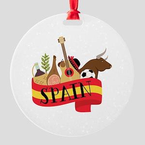 Spain 1 Ornament