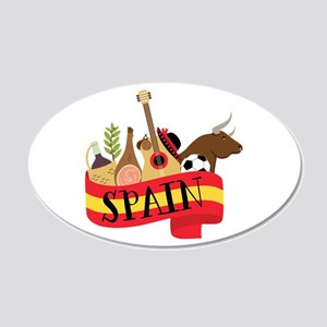 Spain 1 Wall Decal