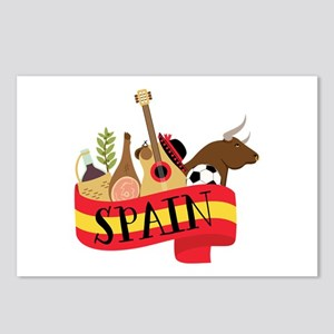 Spain 1 Postcards (Package of 8)
