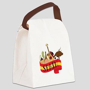 Spain 1 Canvas Lunch Bag