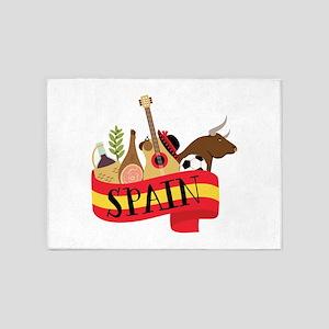 Spain 1 5'x7'Area Rug