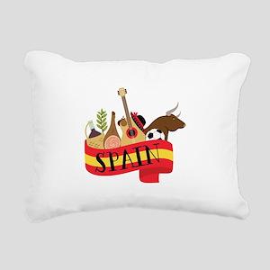 Spain 1 Rectangular Canvas Pillow