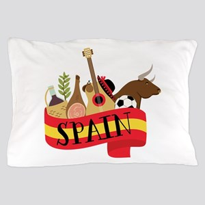 Spain 1 Pillow Case