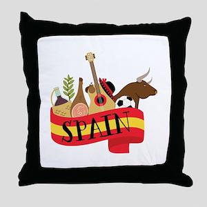 Spain 1 Throw Pillow