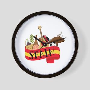 Spain 1 Wall Clock