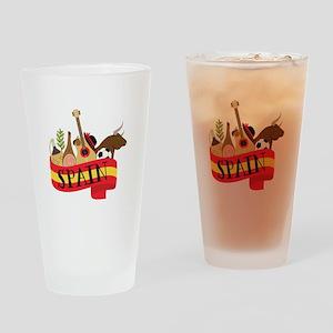 Spain 1 Drinking Glass