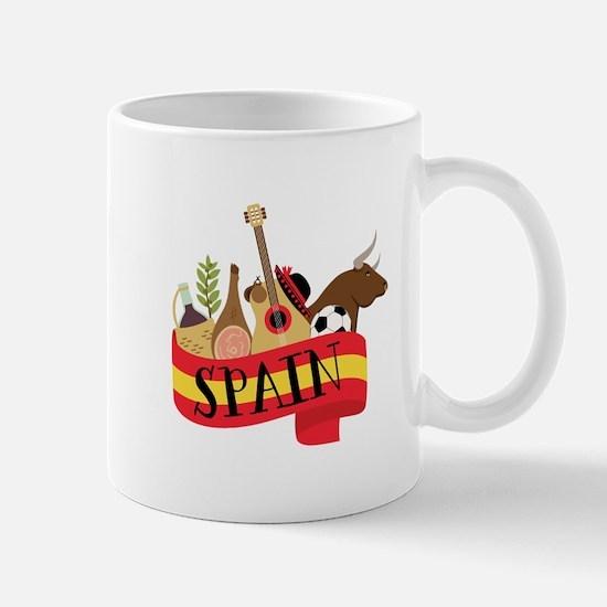 Spain 1 Mugs