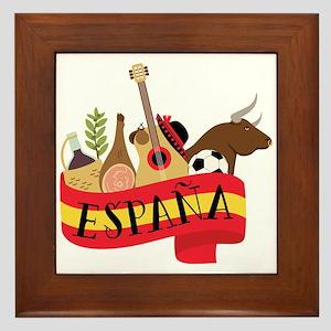 Espana Framed Tile