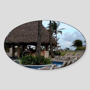 Punta Cana, Dominican Republic Sticker (Oval)