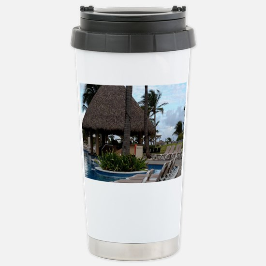 Punta Cana, Dominican R Stainless Steel Travel Mug