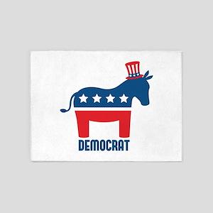 Democrat 5'x7'Area Rug