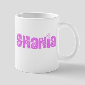 Shania Flower Design Mugs